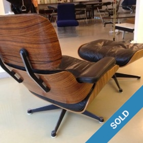 Eames Lounge Chair in Palisander