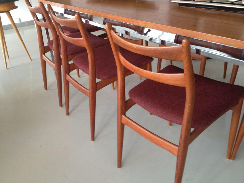 Danish Teak Chairs 2