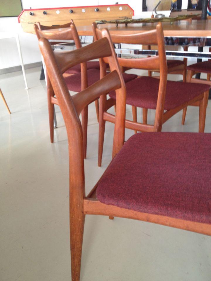 Danish Teak Chairs 5