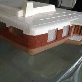 """Architekturmodell """"Futuristic House"""""""