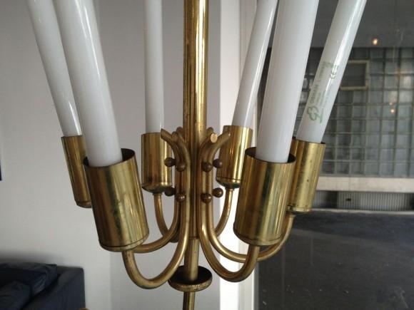 Neon Messing Lampe 3