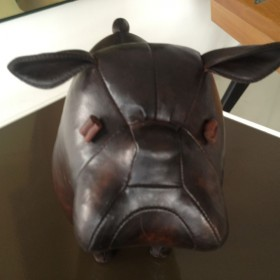 Omersa Bulldog aus Leder