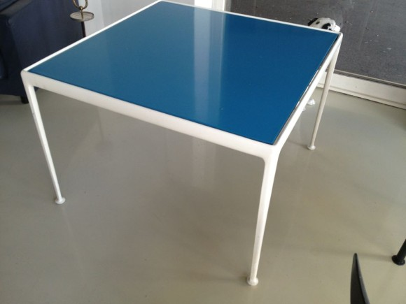 Richard Schultz Blue Table 1