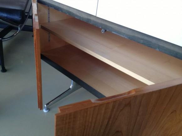 Sideboard 1960s Holz/Laminat
