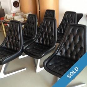 Star Trek Chairs by Chromecraft
