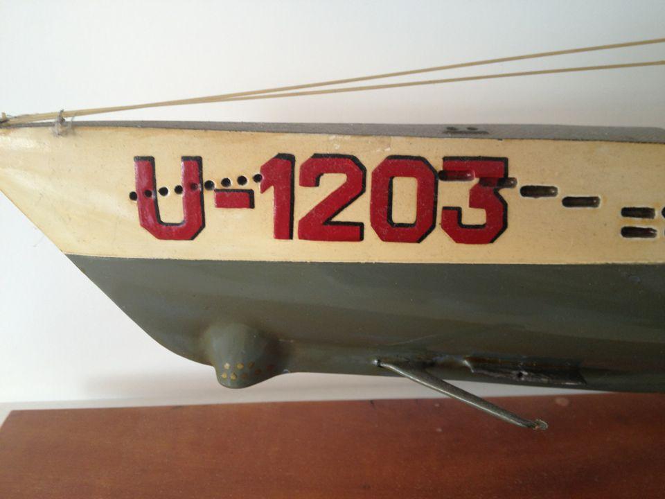 U Boot Typ VII Modell 3