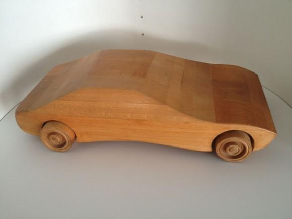 Wood Sports Car 1