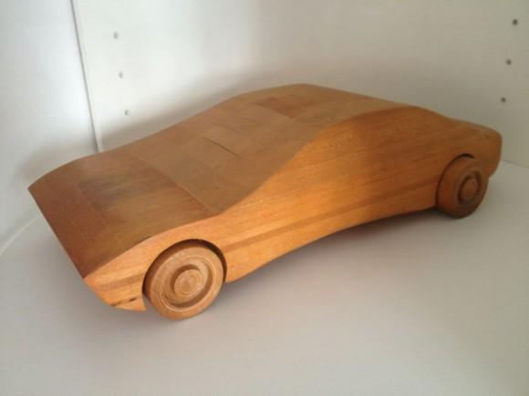 Wood Sports Car 2