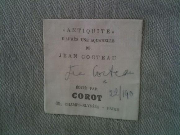 Jean Cocteau Wandbehang Tapestry 3