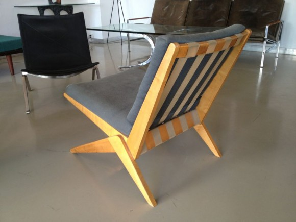 Jeanneret Scissor Chair 1