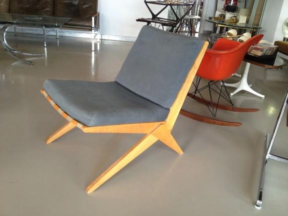 Jeanneret Scissor Chair 2