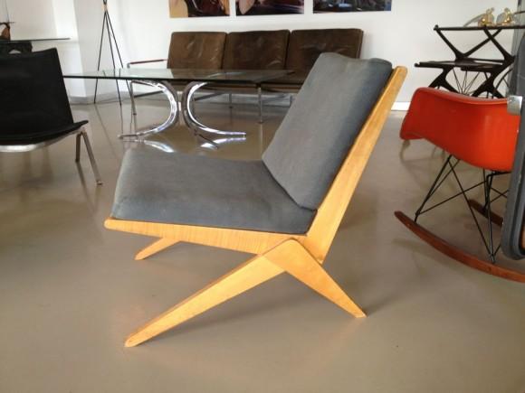 Jeanneret Scissor Chair 3