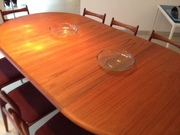 Danish Extendable Teak Table Tisch 3