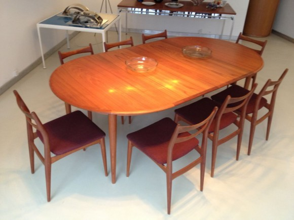 Danish Extendable Teak Table Tisch 4