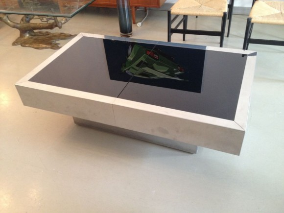 Willy Rizzo Expandable Coffee Table 1