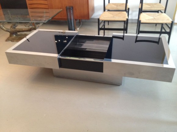Willy Rizzo Expandable Coffee Table 2