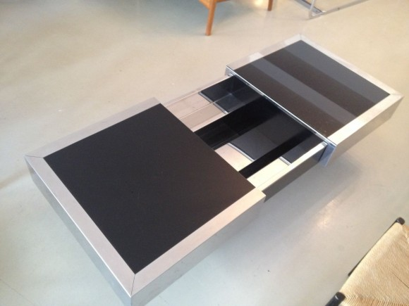 Willy Rizzo Expandable Coffee Table 3