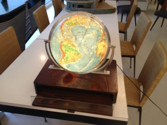 Glas Globus Mit Holzkiste 2