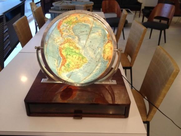 Glas Globus Mit Holzkiste 4