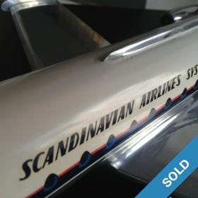 Flugzeugmodell SAS Caravelle