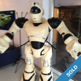 Riesiger Roboter aus Fiberglas