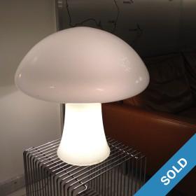 Pilzlampe von Mazzega Italien