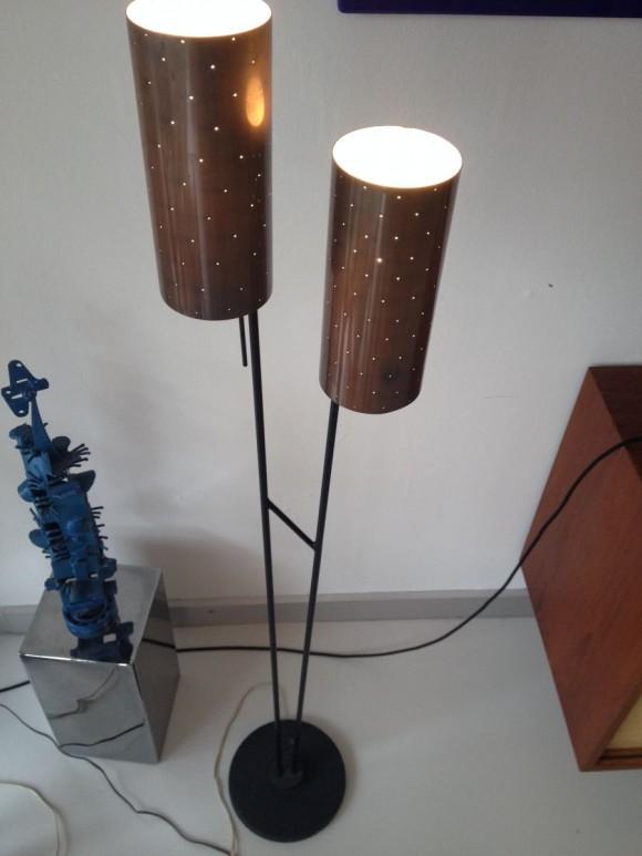 50s Lampe Lochzylinder 1