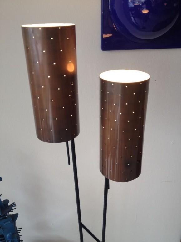 50s Lampe Lochzylinder 2
