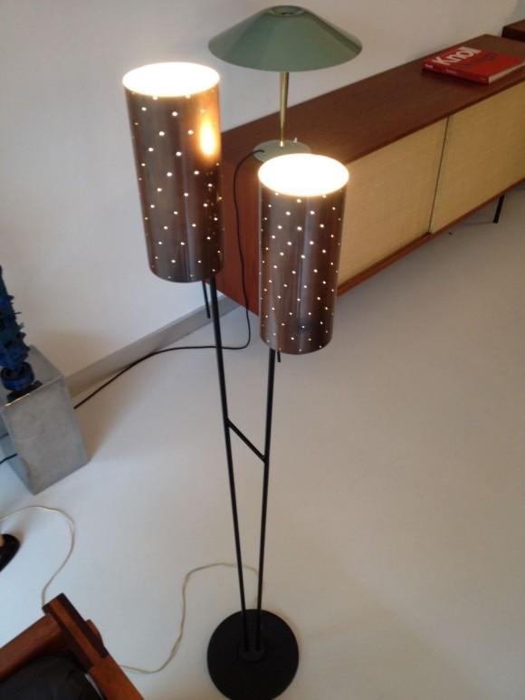 50s Lampe Lochzylinder 5