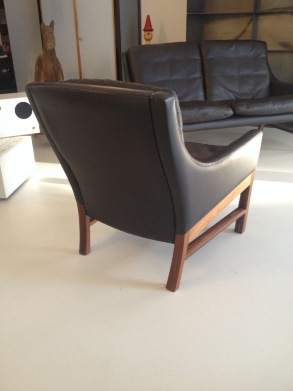 Danish Leather Seating Group 1