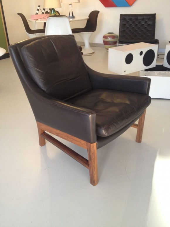 Danish Leather Seating Group 2