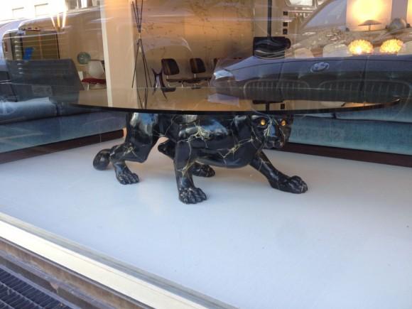 Elastique Black Panther Table Tisch 2