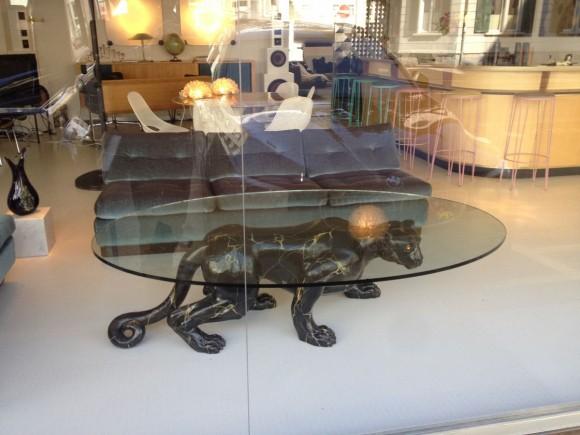 Elastique Black Panther Table Tisch 3