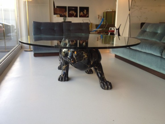 Elastique Black Panther Table Tisch 4