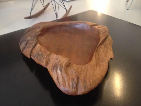 Elastique Holz Schale Wood Bowl 1