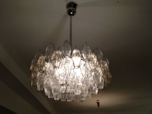 Elastique Zuerich Venini Poliedri Lampe 1