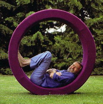 Verner Panton Sitting Wheel 1