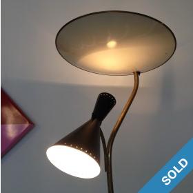 50s-Stehlampe von Belmag