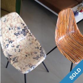 Fiberglass Chairs 50er Jahre