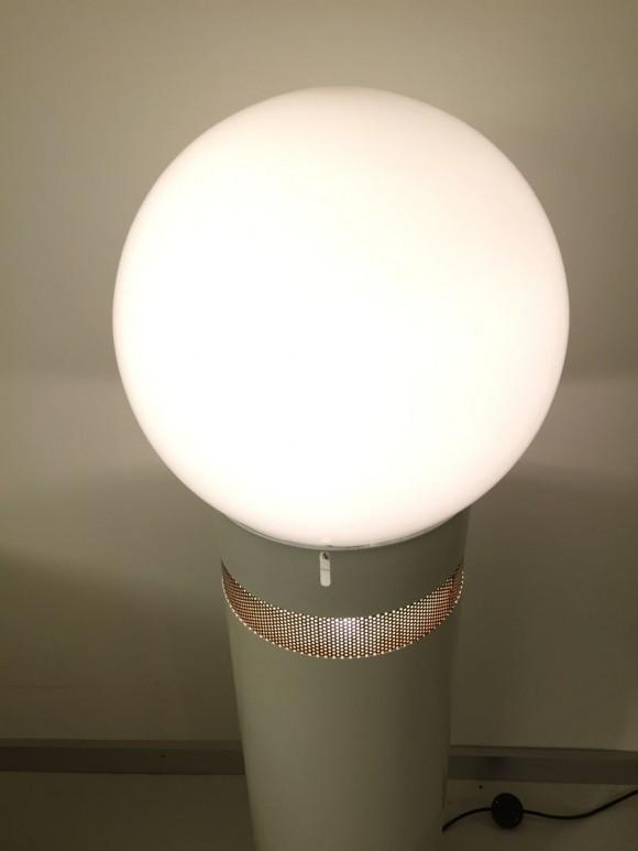 Elastique Zurich Vintage Aulenti Oracolo Lamp White 3