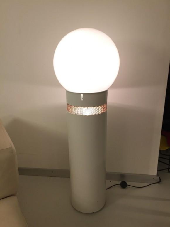 Elastique Zurich Vintage Aulenti Oracolo Lamp White 4