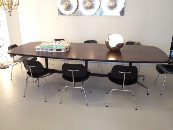 Elastique Zurich Vintage Eames Conference Table Konferenztisch 1