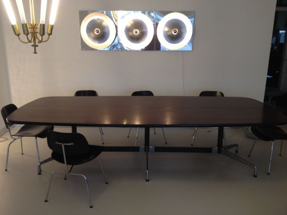 Elastique Zurich Vintage Eames Conference Table Konferenztisch 3