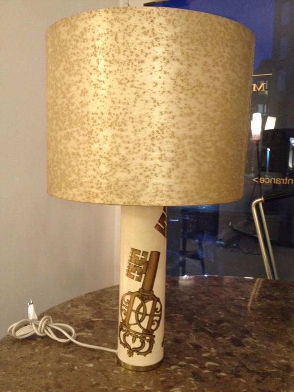 Tischlampe von Fornasetti
