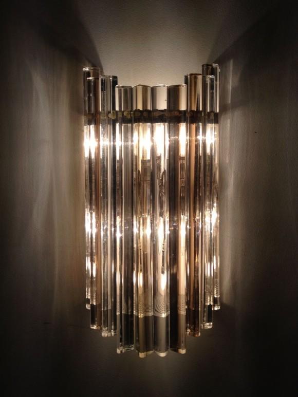 Elastique Zurich Vintage Venini Wall Lamp 3