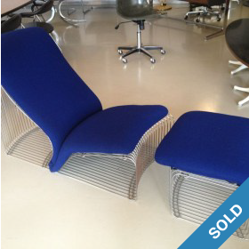 Verner Panton Wire Sessel