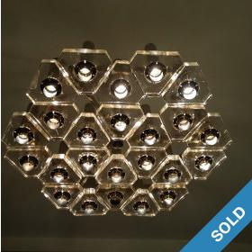 Deckenlampe Hexagon