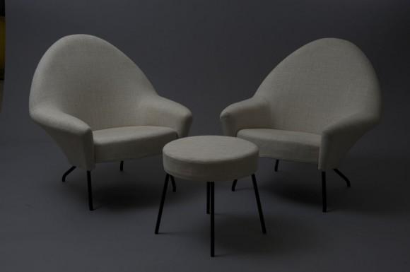 6. Joseph-André MOTTE  paire de fauteuils 770