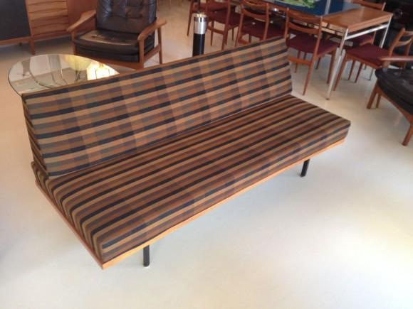 Elastique Vintage 50s Daybed Sofa 1