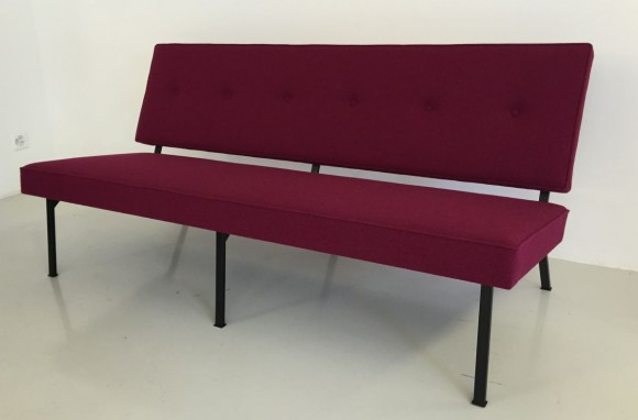 Elastique Vintage Furniture Mid Century Bebek Sofa 3